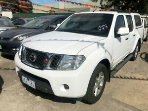 2014 Nissan Navara D40 MY12 Upgrade ST (4x2) White 5 Speed Automatic Dual Cab Pick-up Hoppers Crossing Wyndham Area Preview