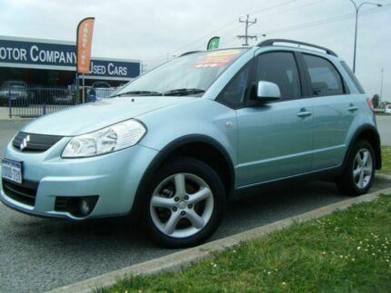 2009 Suzuki SX4 GYB S Blue 5 Speed Manual Hatchback