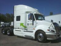 2013 International ProStar +122, Used Sleeper Tractor