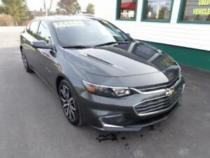 2017 Chevrolet Malibu LT for only $188 bi-weekly all in!