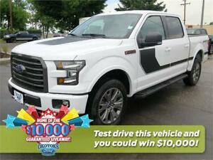 NEW 2017 Ford F-150 XLT 4x4 SuperCrew Cab 5.5 ft. box, 5.0l v8