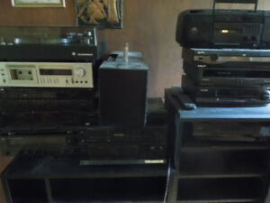 Vintage stereo equipment in mint shape