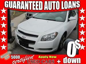 2011 Chevrolet Malibu LT $0 Down - All Credit Accepted!