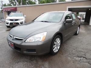 2007 Honda Accord EX-L LOADED Safetied