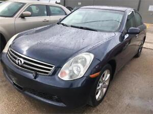 SAFETIED & CLEAN TITLE 2006 INFINITI G35 ALL WHEEL DRIVE
