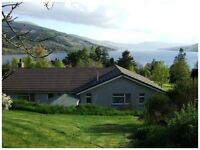 Self Catering Home with Stunning Views over Loch Tay