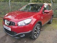 Nissan Qashqai 1.5 N-Tec + 360 DCi Turbo Diesel (magnetic red) 2012