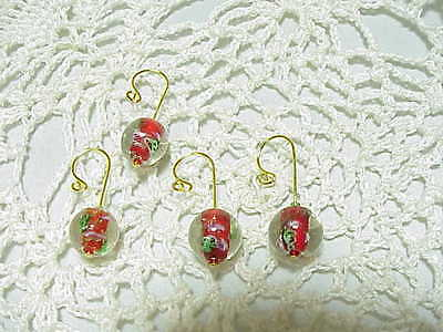 Christmas Snow Globes  CROCHET / KNITTING STITCH MARKERS set of 4 ()