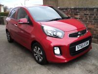 Kia Picanto 2 ISG. Top of range model at ridiculously low price for Christmas. Less than 5000 miles.