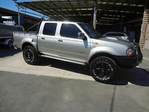 2008 Nissan Navara D22 MY08 ST-R (4x4) Silver 5 Speed Manual Dual Cab Pick-up Coopers Plains Brisbane South West Preview