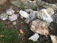 Rockery Stones and Boulders - Free!