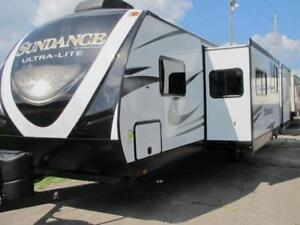 2018 SUNDANCE XLT 312- BUNKHOUSE WITH 2 SLIDES-LOADED!MUST SEE!