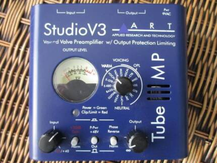Studio V3  Variable voiced  Microphone /Instrument tube preamp. Hazelwood North Latrobe Valley Preview