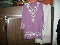 TOP AND MATCHING LONG SKIRT, NEW