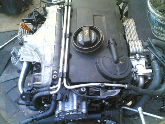golf 5 20L tdi ''BKD'' engine head block and sump