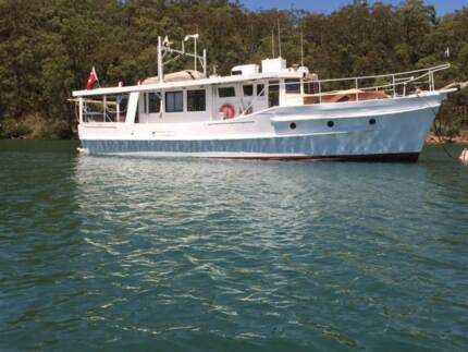 Boat Live aboard Coastal cruiser converted Trawler Laurieton Port Macquarie City Preview