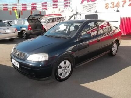 2002 Holden Astra TS CD Blue 5 Speed Manual Sedan Woodville Park Charles Sturt Area Preview
