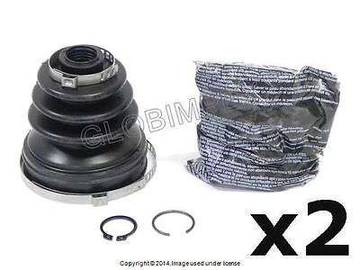 EMPI REAR Inner /& Outer CV Axle Boot Kit for Yamaha Grizzly 400 2007 w// 4x4 4WD