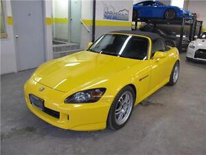 2004 Honda S2000 AP2 YELLOW CANADIAN CAR CONVERTIBLE