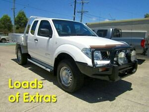 2012 Nissan Navara D40 S6 MY12 RX King Cab White 6 Speed Manual Cab Chassis Noosaville Noosa Area Preview