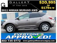 2011 Nissan Murano SV AWD $179 bi-weekly APPLY NOW DRIVE NOW