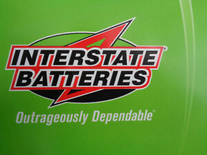 INTERSTATE BATTERIES - please contact Low prices.