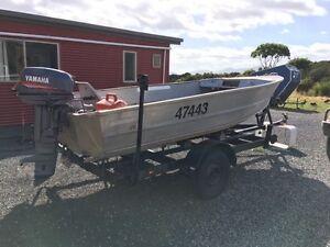 Boat 15 and half foot aluminium Hellyer Circular Head Preview