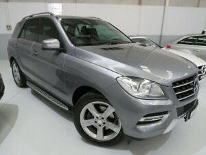 2012 Mercedes-Benz ML250 W166 BlueTEC 7G-Tronic + Tenorite Grey 7 Speed Sports Automatic Wagon Seaford Frankston Area Preview