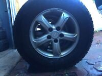 235/70/R16 HIVER TOYO OPEN COUNTRY + Mags Hyundai 5x114,3
