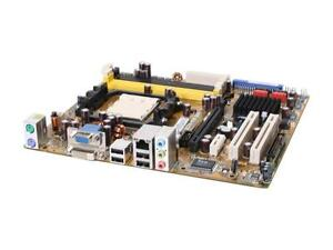 Mother board ASUS MZN-VM DVI WITH 4GB RAM  and AMD CPU 20.00
