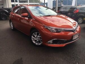 2016 Toyota Corolla ZRE182R Ascent Sport S-CVT Orange 7 Speed Constant Variable Hatchback Bungalow Cairns City Preview