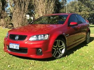 2012 Holden Commodore VE II MY12 SV6 Red 6 Speed Sports Automatic Sedan Embleton Bayswater Area Preview