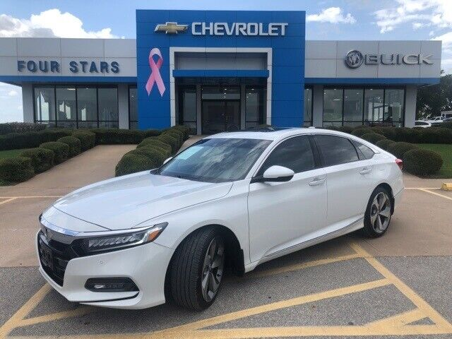 2018 Honda Accord, Platinum White Pearl with 22457 Miles available now!