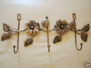 Handmade-Iron-Floral-Hat-Towel-Coat-Key-Hanger-3-Hooks