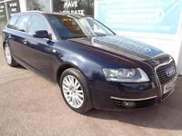 Audi A6 Avant 2.0TDI CVT 2007 SE Full S/H £5200 added extras Inc Nav P/X
