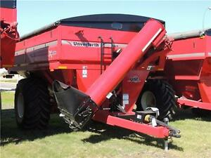 2015 Unverferth 1017 X-Treme Grain Cart - 1,025+ bu, 410 Scale