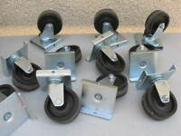 CASTORS / HEAVEY DUTY - - ( WHEELS )