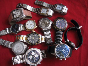 HERITAGE DES MONTRES----WATCHES---ROLEX, OMEGA, CARTIER, IWC....