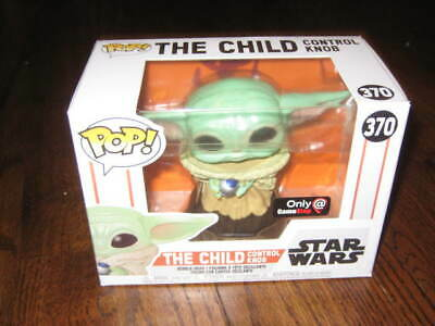 Funko POP Star Wars The Mandalorian-The Child 370 With Knob Gamestop Exclusive
