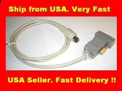 (5ft Sony VISCA PTZ Extendable Camera Control Cable EVI-D70 EVI-D30 D100 RS232 US)