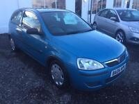 2004 VAUXHALL CORSA 1.0i 12V Life LOW INSURANCE 12 MONTHS WARRANTY AVAILABLE
