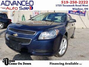 2010 Chevrolet Malibu  $39.71/WEEK*o.a.c. + HST & Lic.