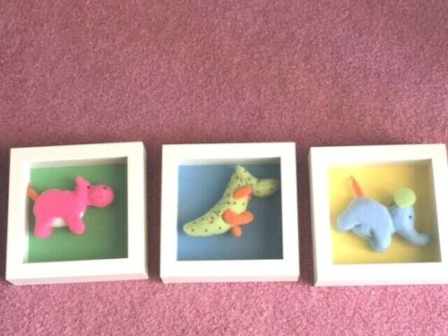 Animal Shadow Boxes For Babies Room, Wall Decor, Free Shipping