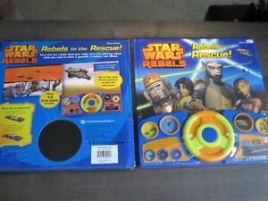 STAR WARS.Rebels to the Rescue,Play a Sound Books,NEW.RED Kitchener / Waterloo Kitchener Area image 3