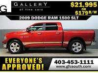 2009 DODGE RAM SLT CREW *EVERYONE APPROVED* $0 DOWN $179/BW!
