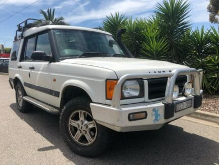 2001 Land Rover Discovery TD5 (4x4) White 4 Speed Automatic 4x4 Wagon Hoppers Crossing Wyndham Area Preview