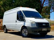 2008 Ford Transit VM Mid Roof LWB White 6 Speed Manual Van Littlehampton Mount Barker Area Preview