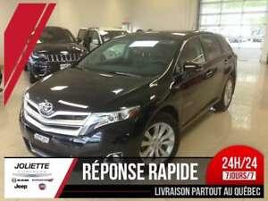2015 Toyota Venza Limited, 4X4, CUIR, TOIT, GPS, BLUETOOTH