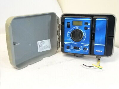 EXTERIOR Irritrol / Rain Dial RD-600 R / RD-600 EXT Sprinkler Timer