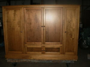 """ BIRCH ""  ENTERTAINMENT UNIT/ WALL CABINET Windsor Region Ontario image 1"